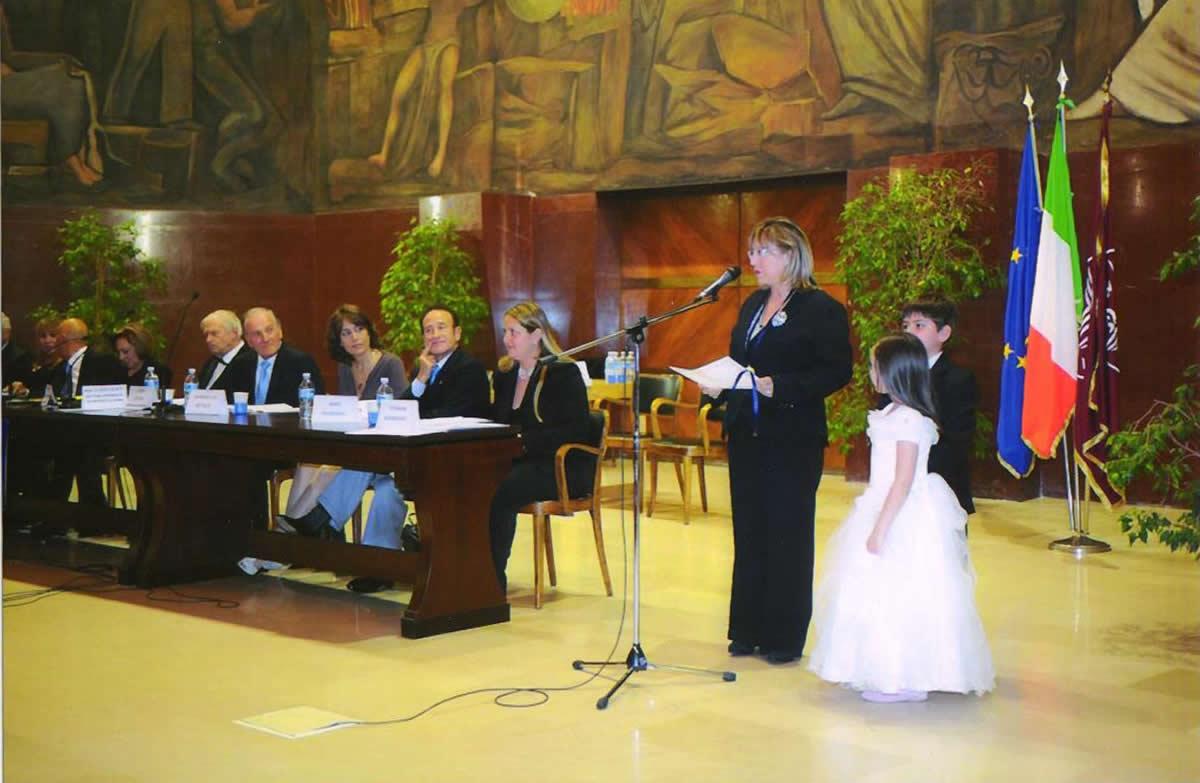 Premiazione Maison des Artistes